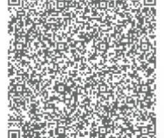 Code QR qui sera scann.é par le passeport vaccinal et qui contient des informations sous le protocole SMART Health Card